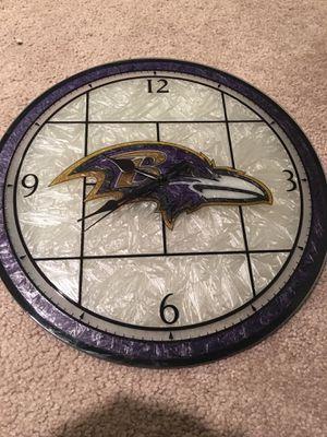 Ravens clock