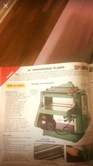 This beautiful new machine people who like work in Carpenter
