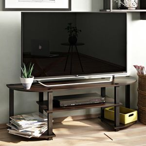 "Tracy 50-60"" Tv Stand Black/Grey, Expresso and Dark Walnut"