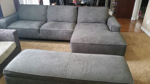 New chaise sofa with storage ottoman furniture in kent wa for 750 sofa chaise