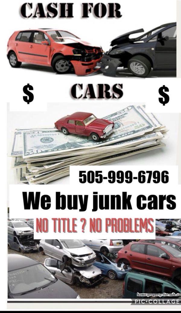 We buy junk cars and trucks (Cars & Trucks) in Albuquerque, NM