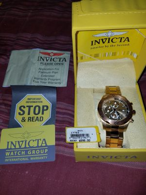 Wach invicta new have all papers is original have tag pricesI'm pay more $600 for emergency I'm sale only in $350 full price no negotiable