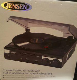 Jensen record player
