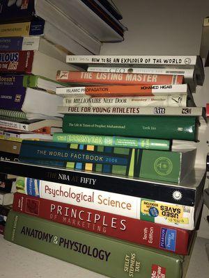 College high school textbooks reading