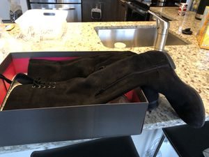 Vince Camuto size 7 suede over the knee boots