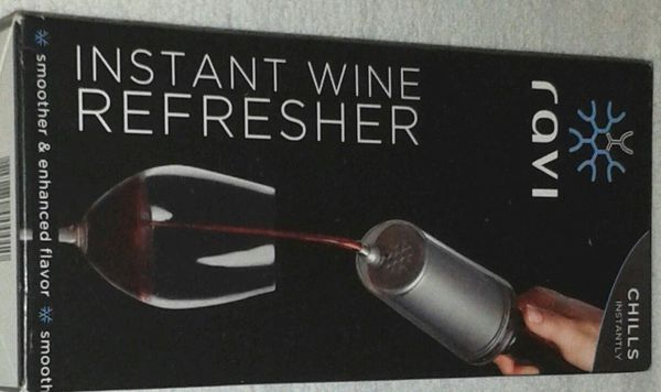 Metal WINE Refresher / Cooler NIB