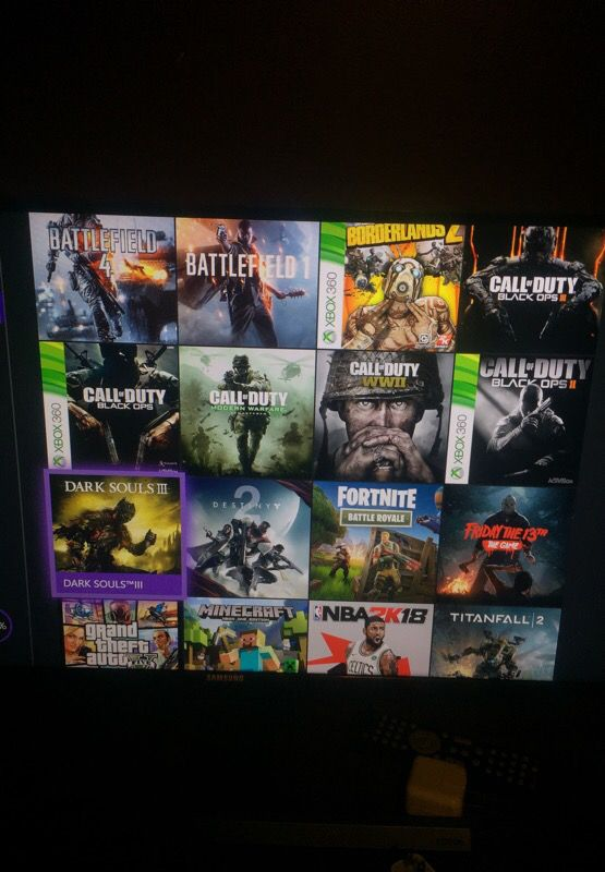 Xbox One - 700GB 600$ Worth of games download