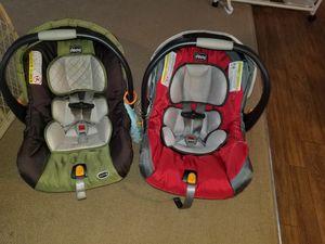 2 Chicco car seats
