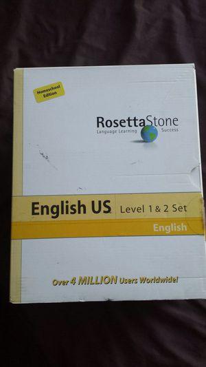 Rosetta Stone. Learn English level 123 .