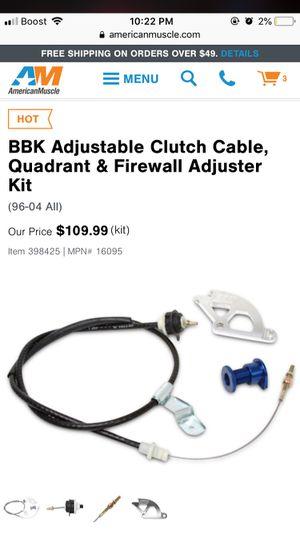 BBK Clutch Cable, Quadrant & Firewall Adjuster Kit