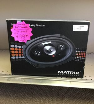 Matrix 6x9 Car Speakers New!