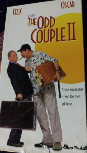 """The Odd Couple 2 """"VCR/VHS Movie"""""""