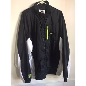 Vintage Nike Jacket Green Voltage/White/Black
