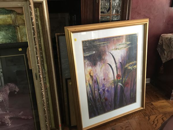 Beautiful framed art your choice or take it all