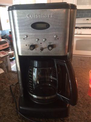Cuisinart programmable coffee maker excellent!