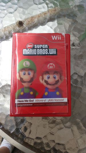 Super Mario Brothers for Wii