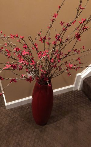 Vase with branches from Pier1Imports