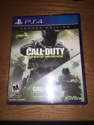 Call of Duty Infinite Warfare/Modern Warfare Remastered Legacy Edition for PS4
