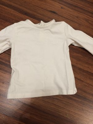 Gently used size 12 months Burberry long sleeve shirt