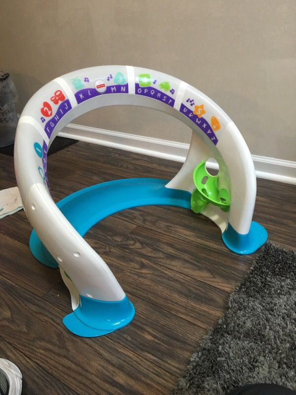 Fisher Price Touch Light Up Dance And Abc Music Ring