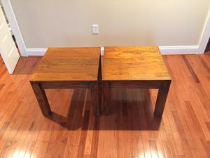 Contemporary side/middle tables