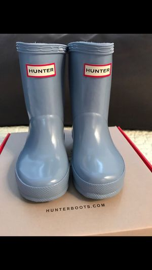 Hunter boots kids size 2 ( Baby & Kids ) in Portland, OR - OfferUp