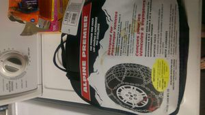 Tire chains brand new