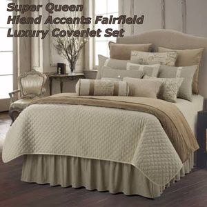 Hiend Accents Fairfield Luxury Coverlet Set