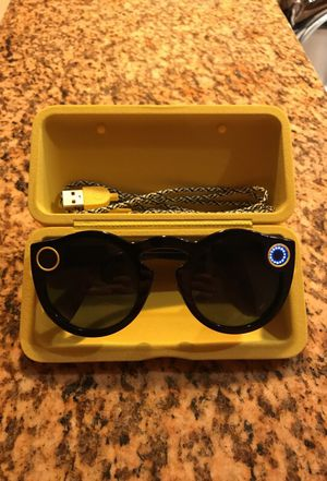 Snapchat spectacles! Used once - Like NEW