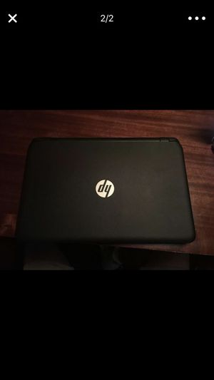 HP touch screen laptop !!