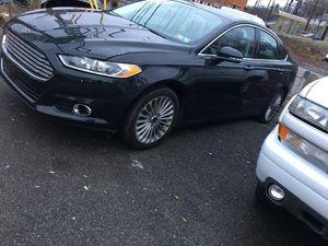 2015 Ford Fusion platinum titanium 60k
