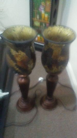 2 nice lamps antic like new