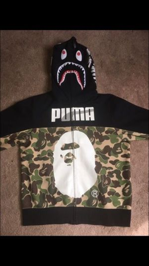 Bape x Puma Hoodie - Size XL