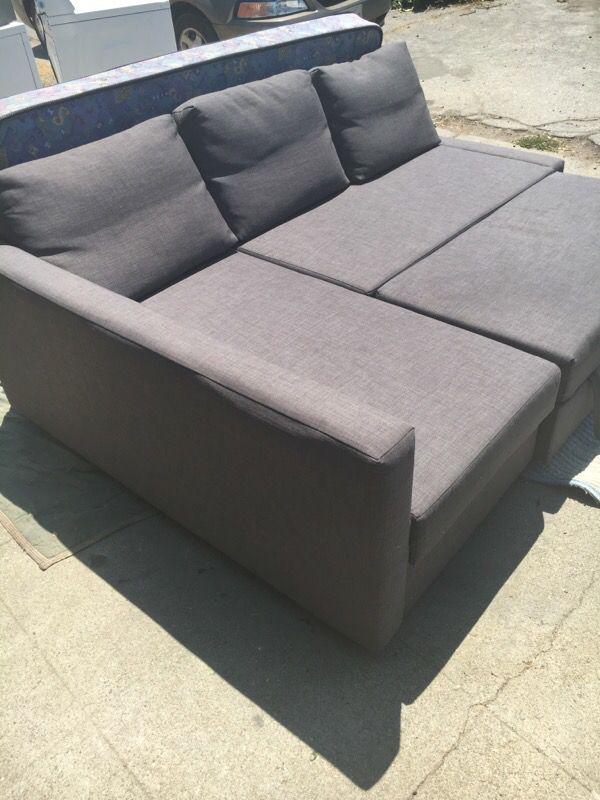 Ikea Friheten Sleeper Sectional 3 Seat W Ottoman Skiftebo
