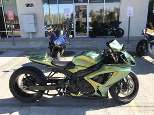 2006 Suzuki GSXR 600 with 240 kit