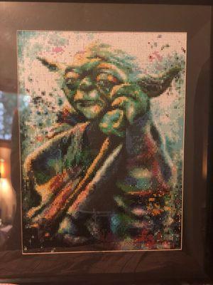 5D Diamond Painting of Yoda