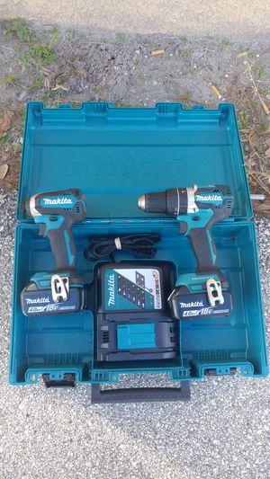 Makita XT269M Hammer drill+Impact driver lithium-lon Brushless cordless 2-pc combo kit battery 4.0Ah BRAND NEW.