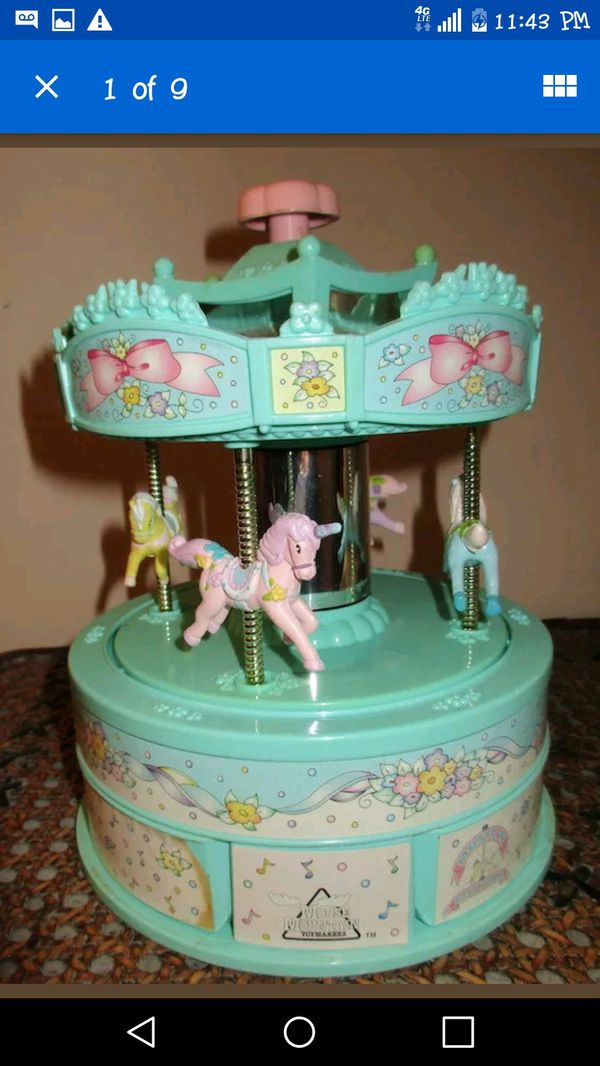 Vintage musical carousel jewelry box Collectibles in Bossier City LA