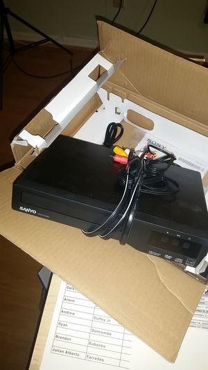 Sanyo DVD player-non HDMI