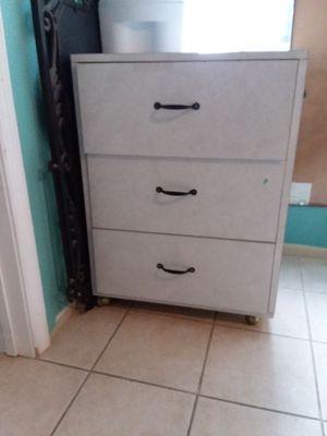 Mueble de 3 gabetas