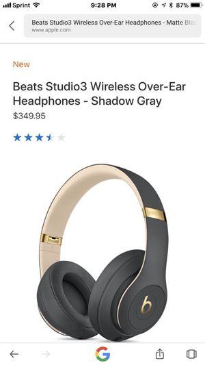 Beats studio's