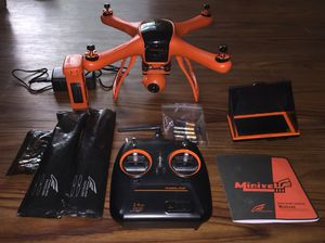 Wingsland Minivet 5 inch screen RC Quadcopter 3-axis FPV with 1080p HD Camera