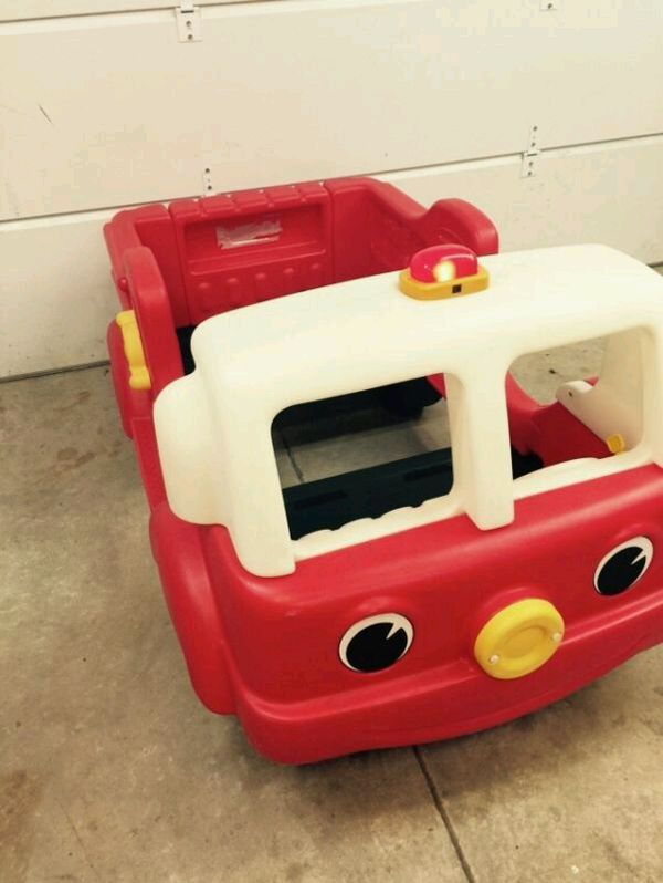 little tikes step 2 fire engine toddler bed ( baby & kids ) in