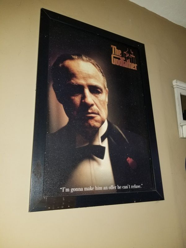 Original Godfather Frame Can\'t take with me (Photography) in ...