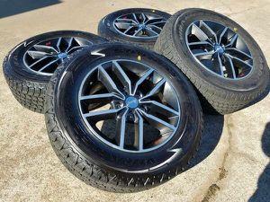 "Newer 18"" 2017 Jeep Grand Cherokee TrailHawk Tires&Wheels"
