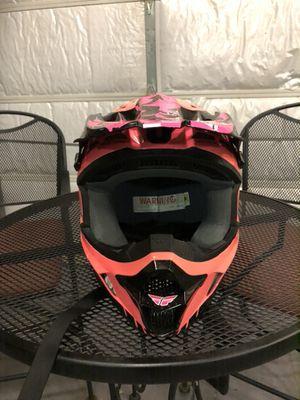 Women's size small FLY dirt bike helmet