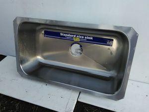 Sink 5 Of 6 Avail. Nice, New, Deep. Undermount SS. 32x18.