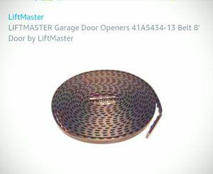 Belt Garage doors openers