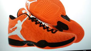 Jordan xx9 infared size 13 orabge and black