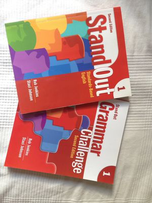 English learning books Standout 1